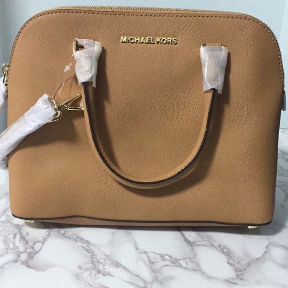 850571deec3c MICHAEL Michael Kors Bags | Michael Kors Leather M Dome Satchel In ...